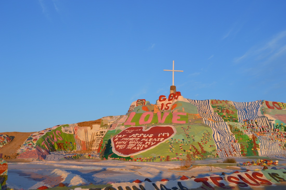 PictureSalvation Mountain near Slab City California